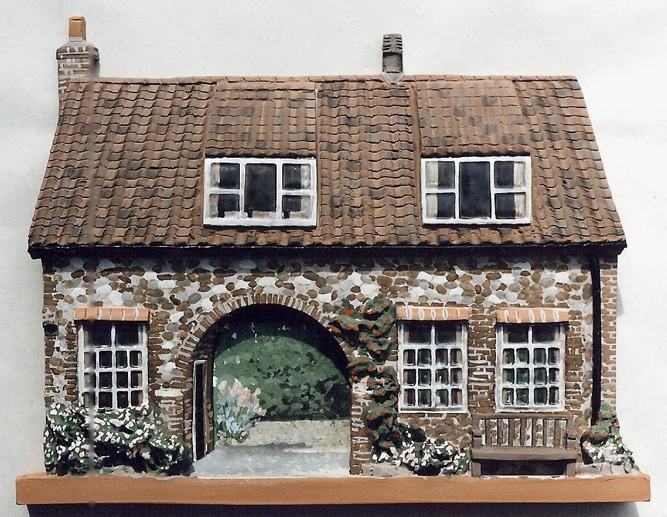 Heacham cottage relief