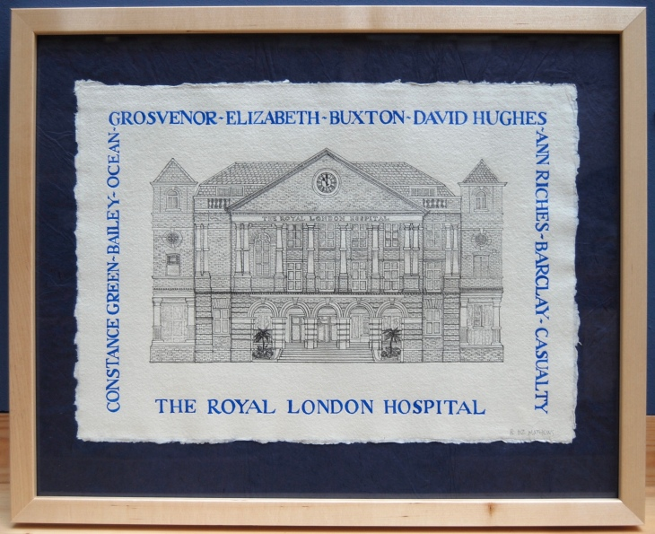 Royal London hosp drawing