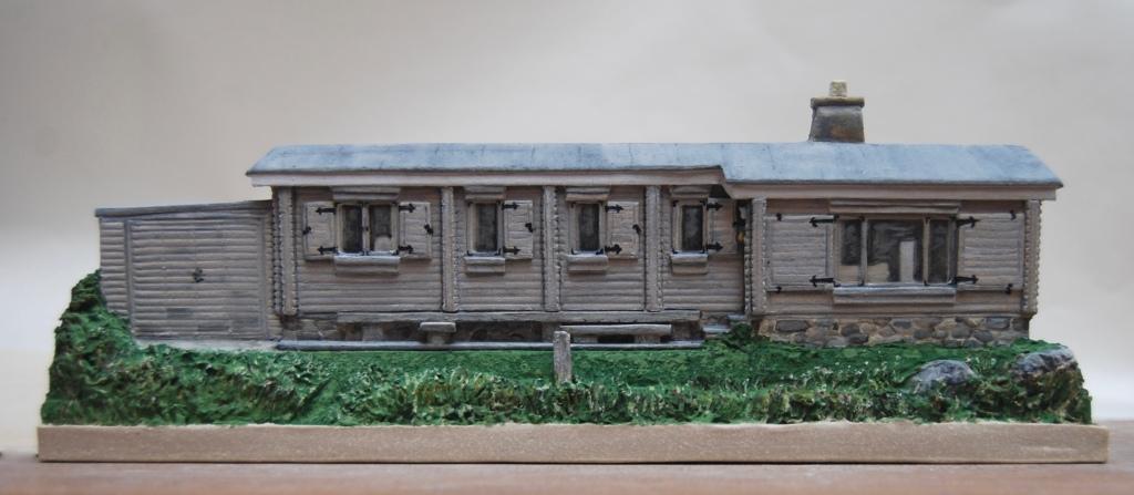 A Hebridean log cabin of beloved memory