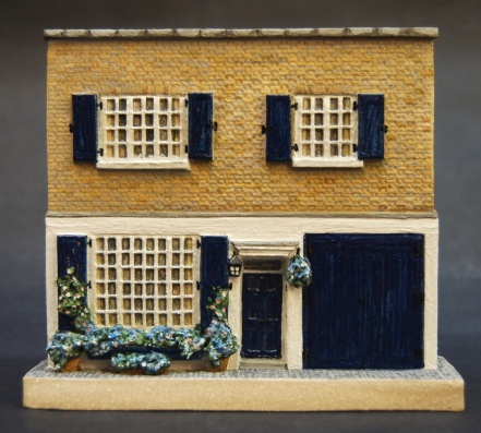 No 1: a compact elegant London mews house with window-box garden