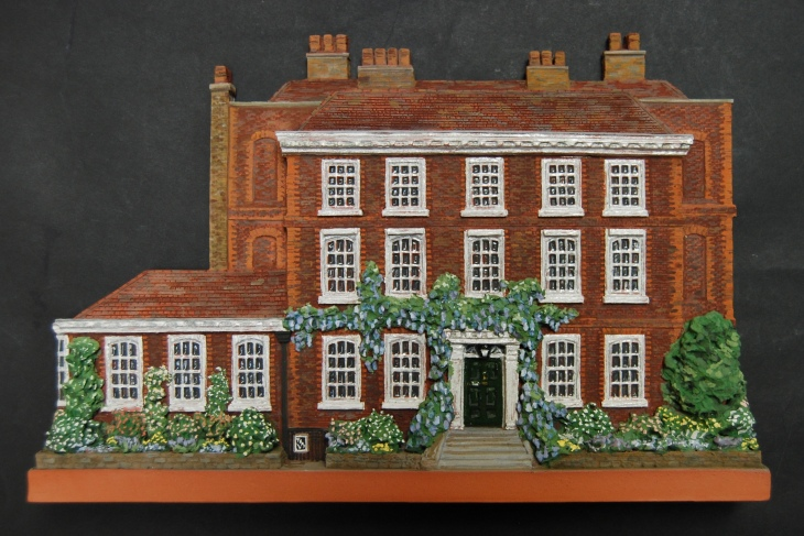 Burgh House in May, architectural portrait by Liz MathewsDSC_0746