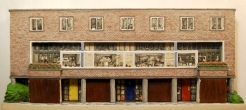 2 Willow Road, architectural portrait in stoneware by Liz MathewsDSC_0467
