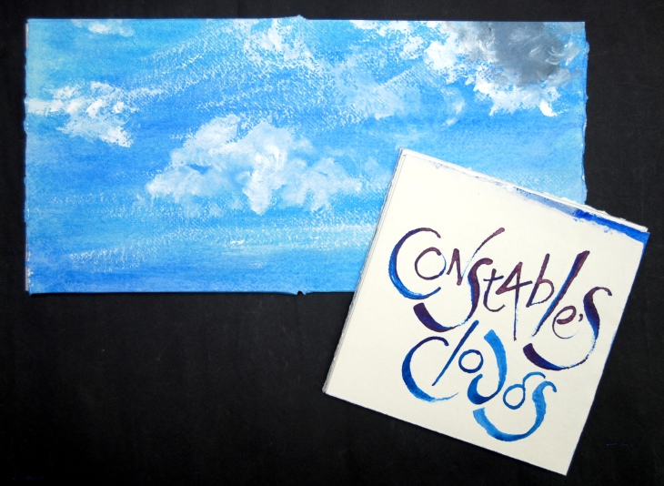 Constable's Clouds slipcase and front cover