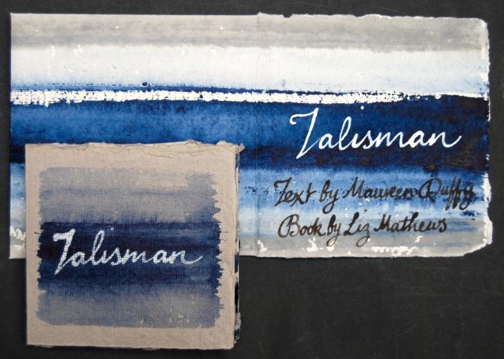 Talisman, cover and portfolio slipcase